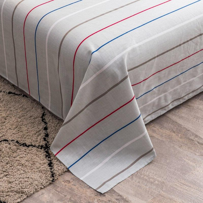 Home plaid series bed <font><b>cotton</b></font> printing bed line twin #/L