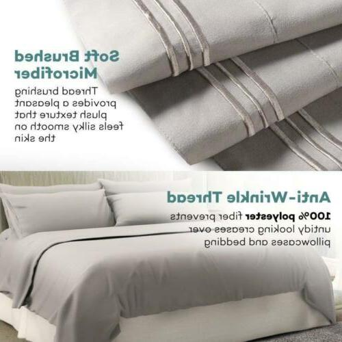 full Soft Comfort 6 Deep Pocket Bed Set