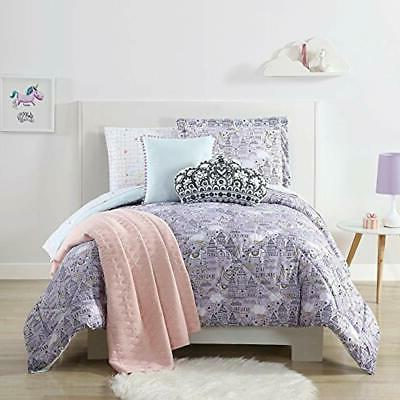 lhk sheetset graphic unicorn queen sheet set