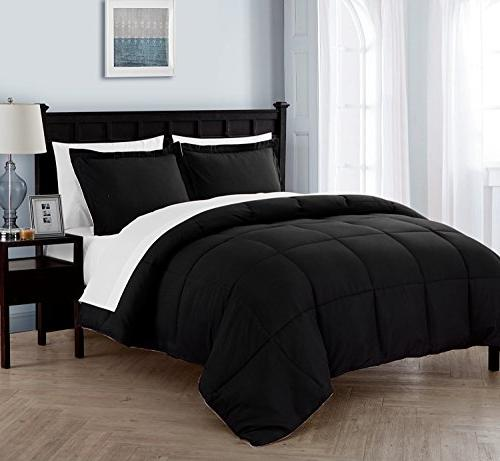 lincoln down alternative reversible bed
