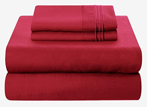Mezzati Set - - Best, Ever! 1800 Collection Brushed Microfiber