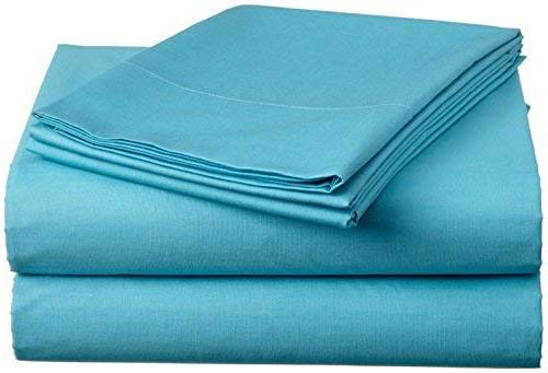 luxury bed sheets set turquoise
