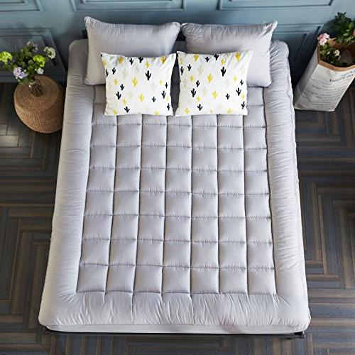 Mattress Thick Cotton Pocket Quilted Pillowtop by Sonoro