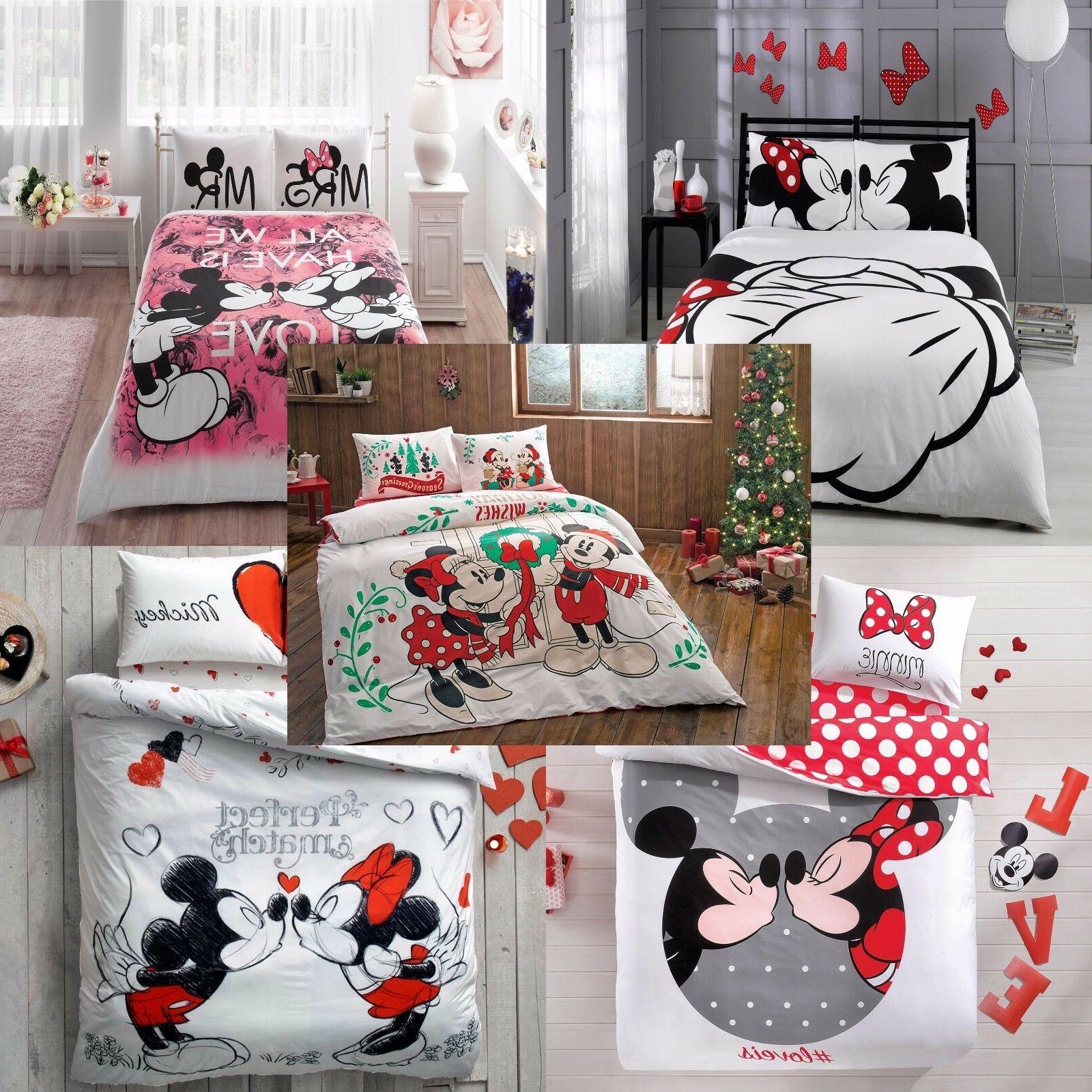 mickey and minnie mouse double queen size