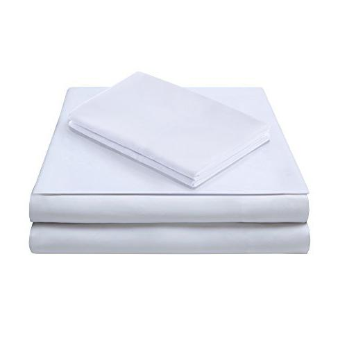 Comfort Microfiber Set 6 Size Stain Resistant White - Fitted Pillow Cases
