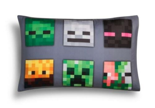 minecraft reversible pillowcase standard size for twin