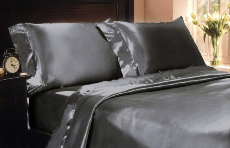 mk collection 4pc soft silky satin solid