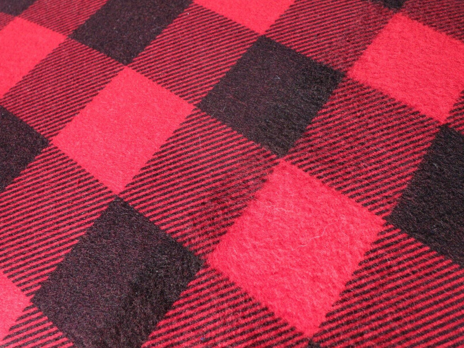 Nice! Queen Plaid/Buffalo Check/Red &