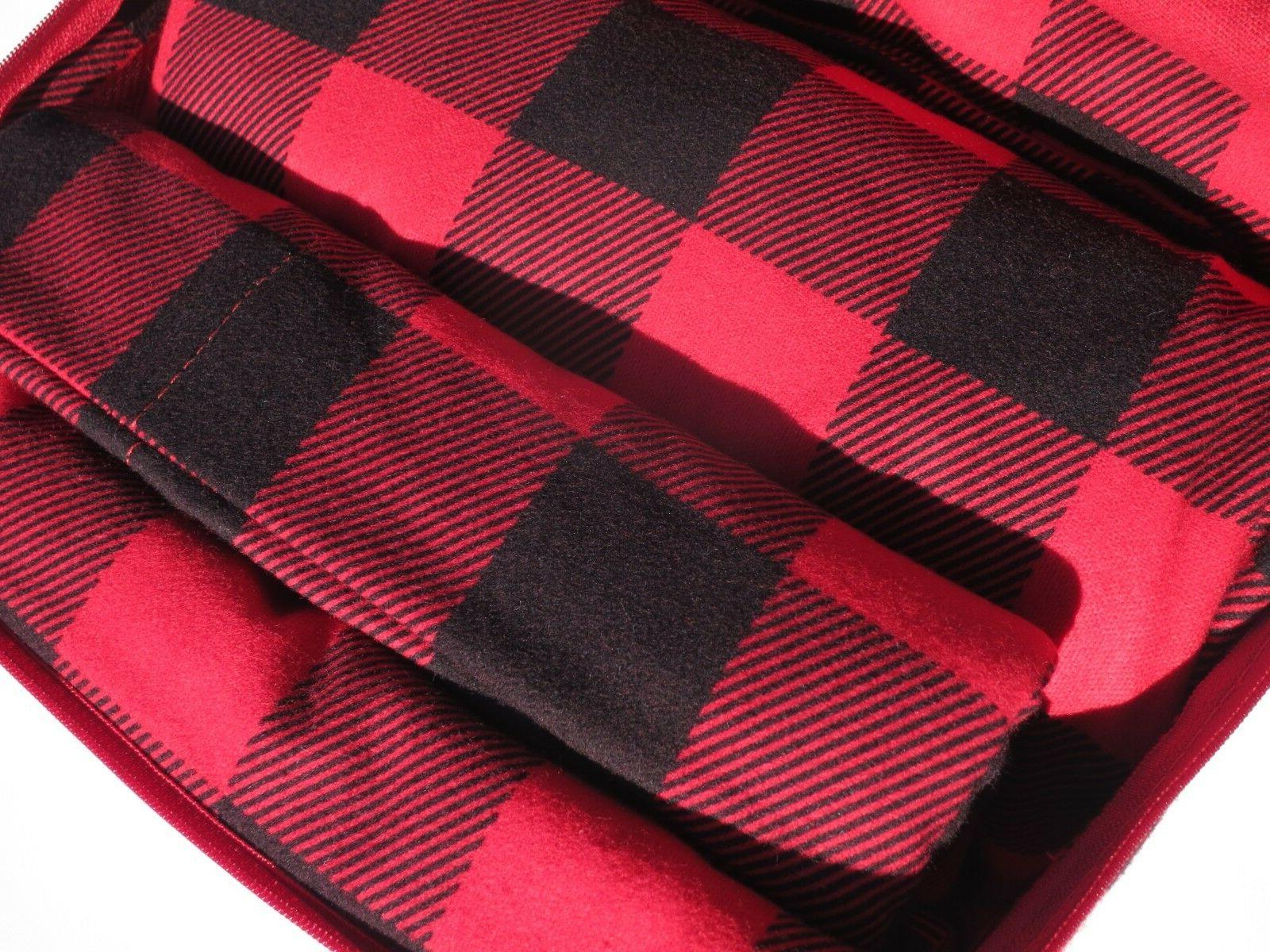 Nice! Queen Bed in Plaid/Buffalo