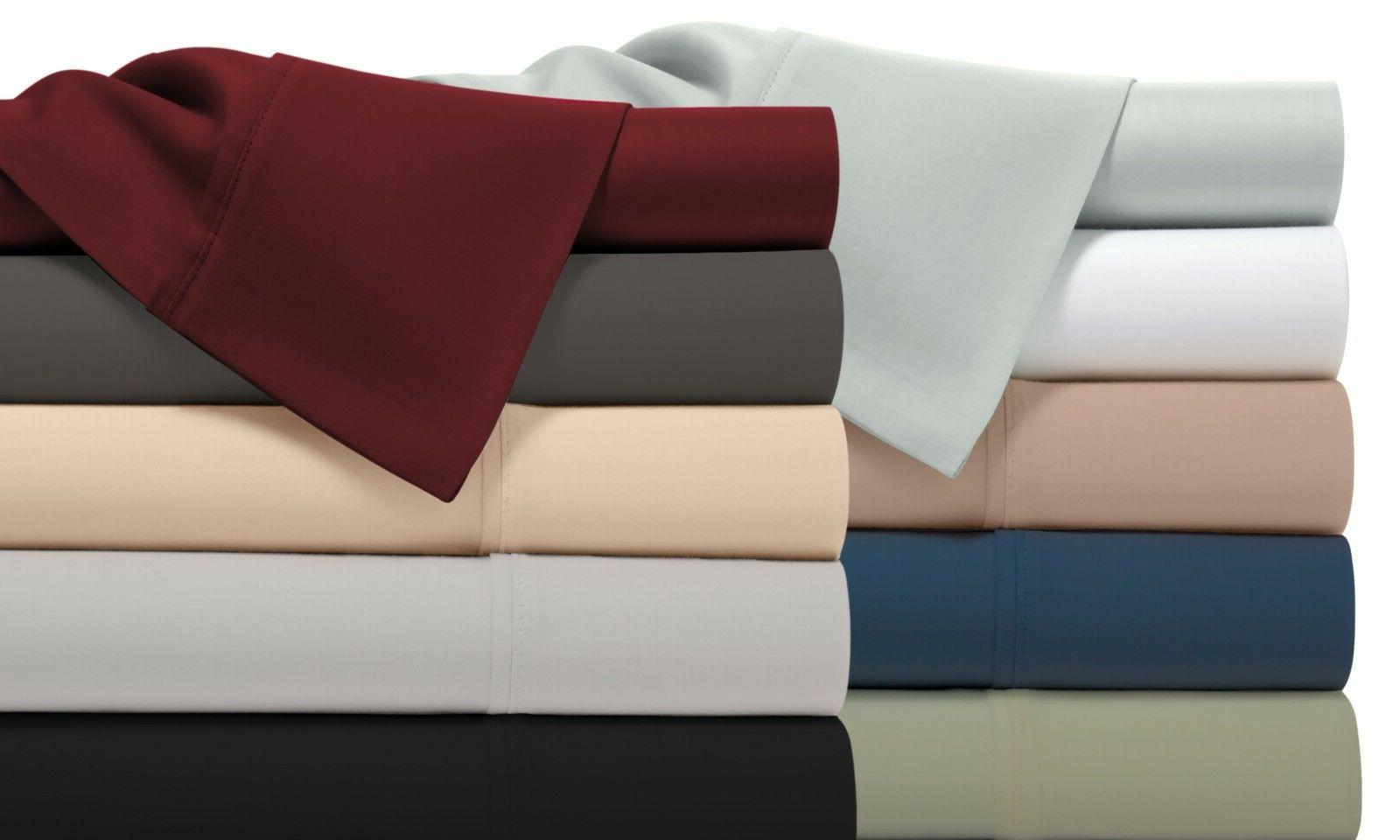 1800 Thread Count Bamboo Comfort Extra Soft Bed Sheet Set De