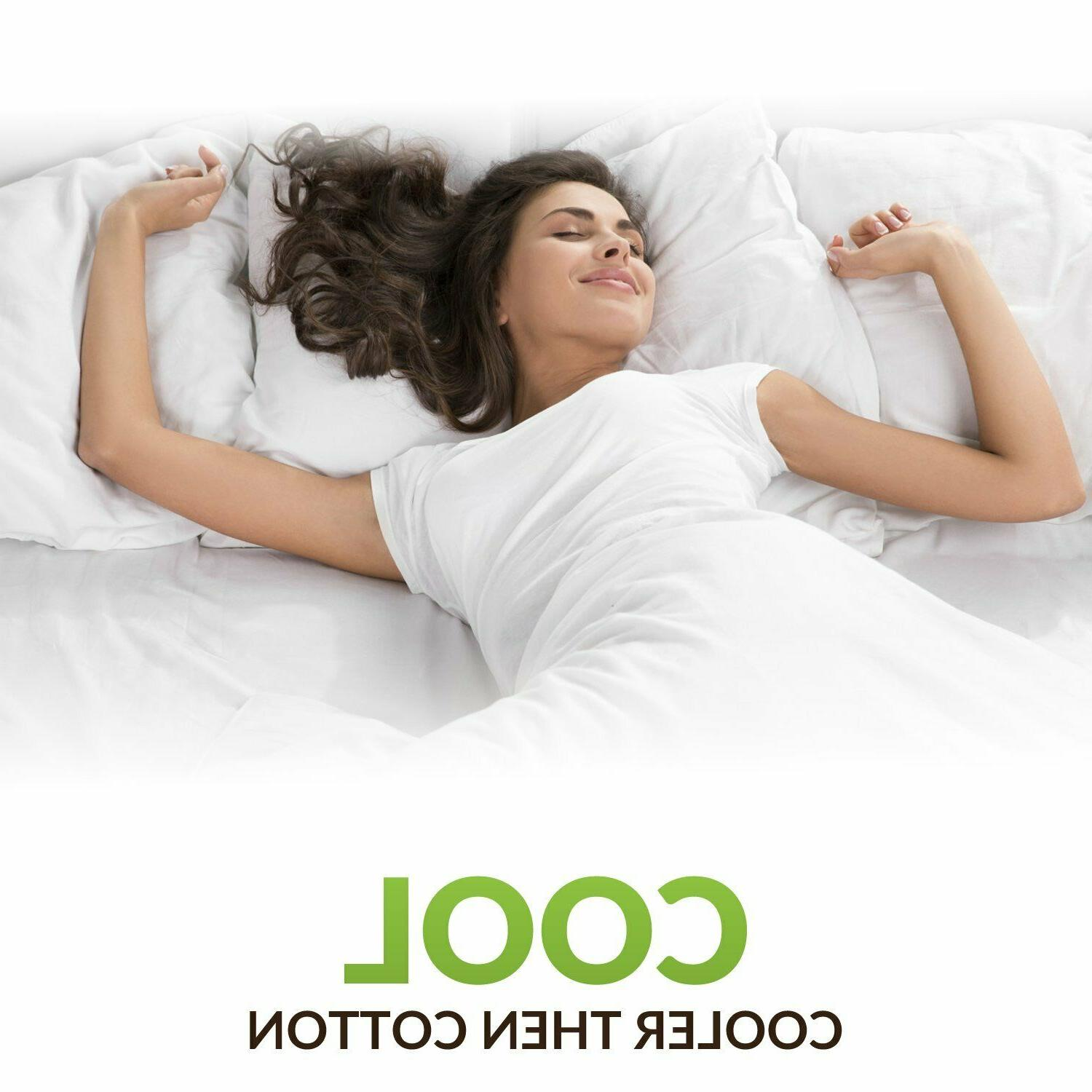 Series Cooling Bed Sheets Set