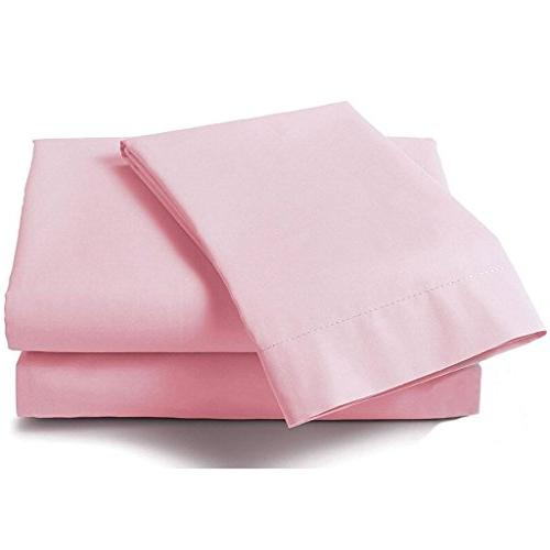 pink solid queen ultra soft
