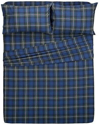 Flannel Sheet Set - Queen, Blackwatch