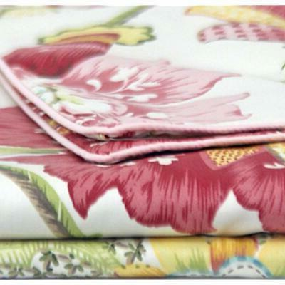 Queen's House Sheets Lotus Print Size-G Home