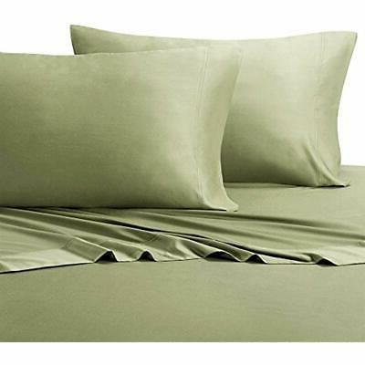 queen sage silky soft bed sheets 100