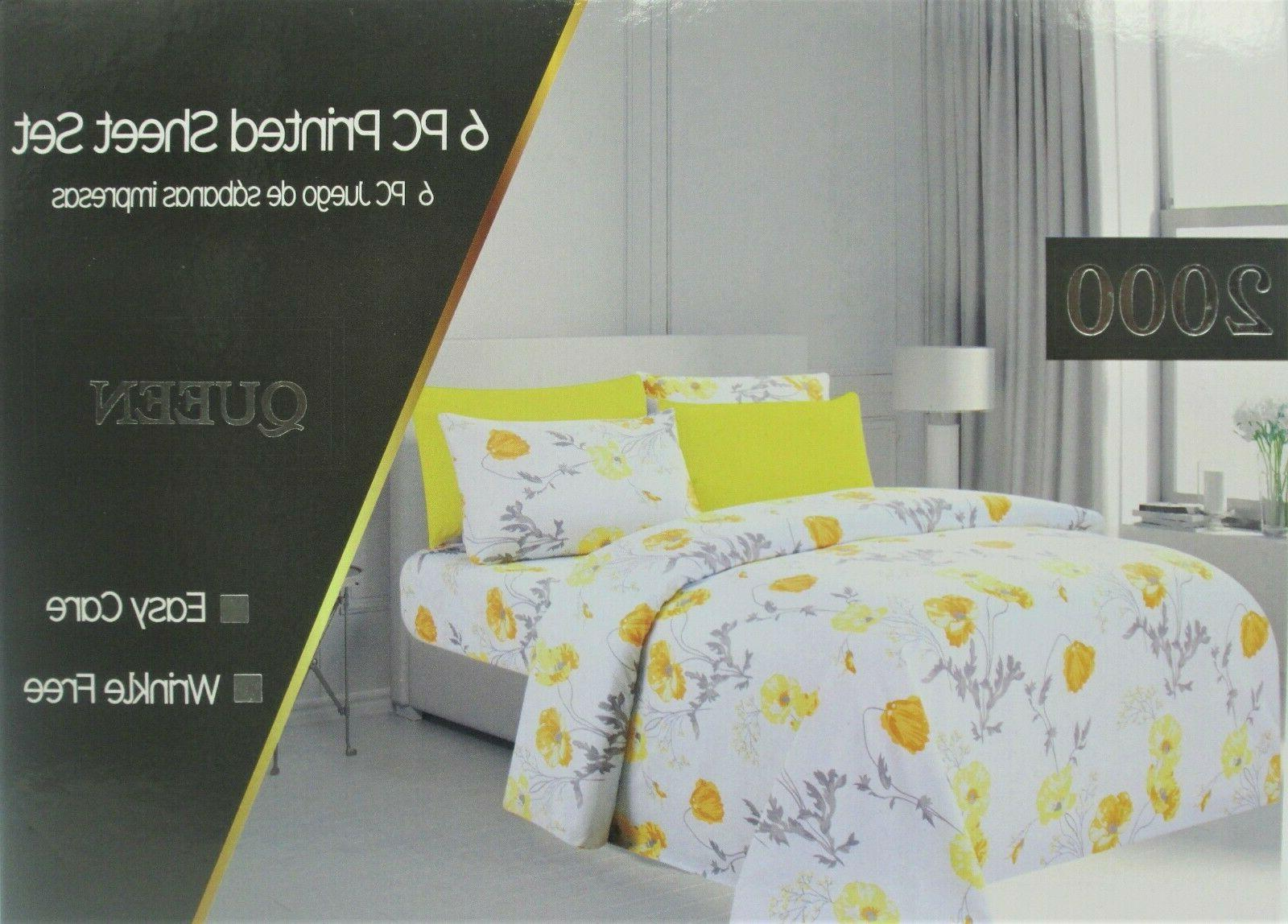 """Egypt Collection Size Bed """"2000"""" Sheet"""