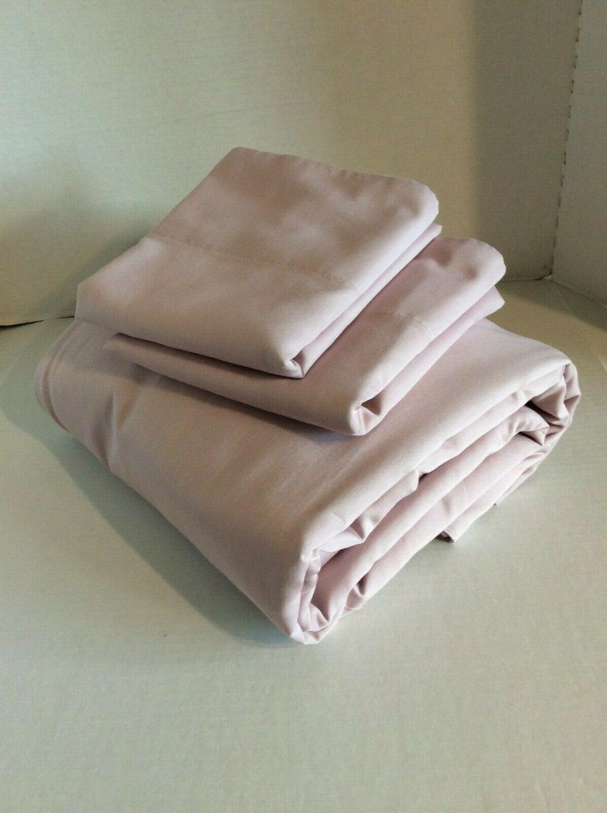 Queen Sheets 600TC Easy Blush/Lilac