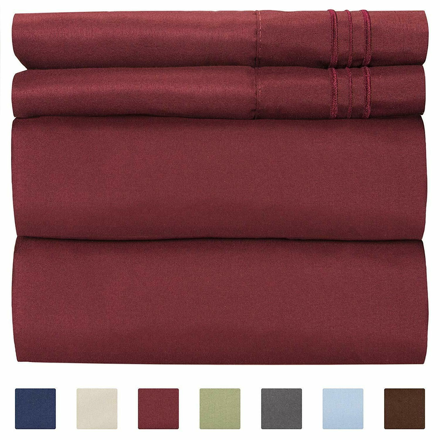 Queen Size Wrinkle Bed Sheets 4