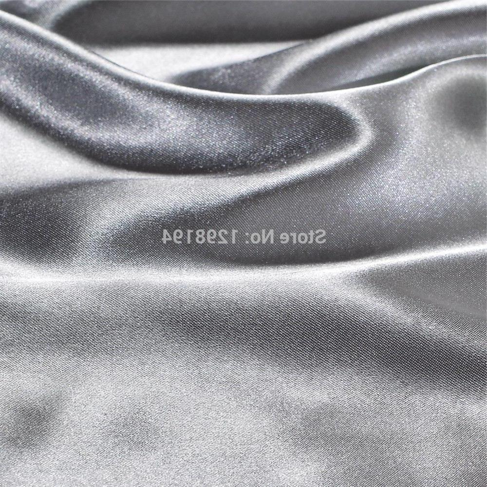 Satin <font><b>Sheet</b></font> Bed <font><b>Deep</b></font> <font><b>Pocket</b></font> Mattress Cover Soft Wrinkle Fade Resistant King