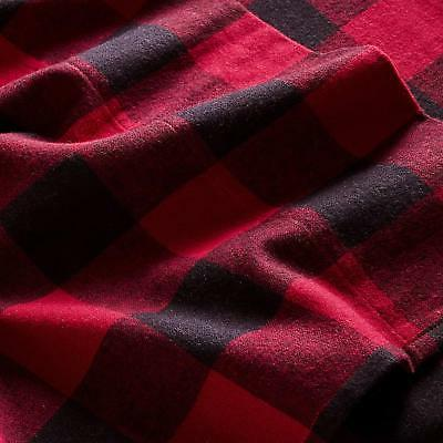 Stone & Buffalo Check Flannel Sheet