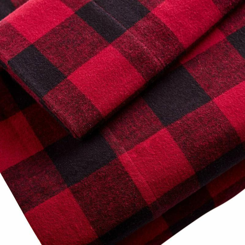 Stone Check Soft Flannel Yarn-Dyed