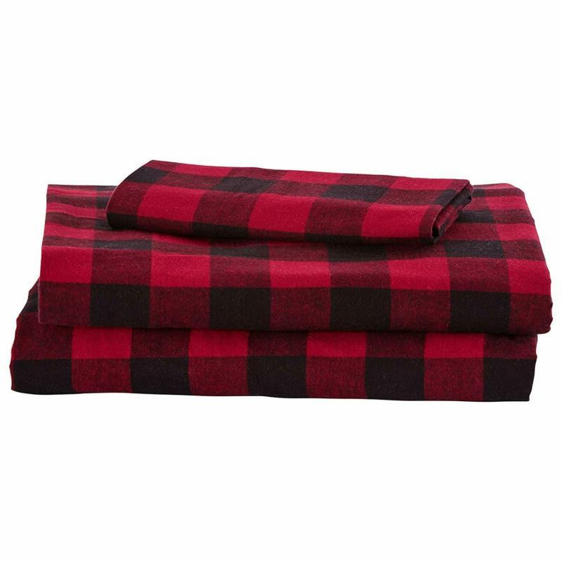 Check Breathable Flannel Yarn-Dyed Se
