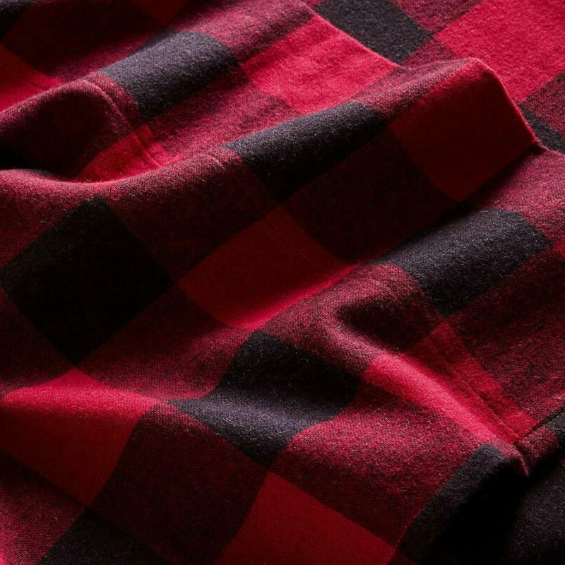 Stone Beam Check Soft Breathable Flannel Yarn-Dyed Sheet