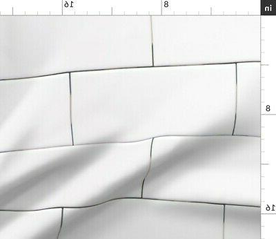 Subway Tile Modern Decor Sateen Sheet Set by Roostery