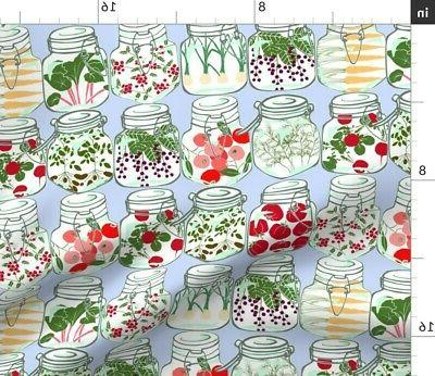 Summer Canning Home Kitchen Decor 100% Sateen Set Roostery