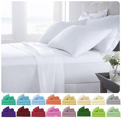 Supreme Super Soft 4 Piece Bed Sheet Set Deep Pocket Bedding