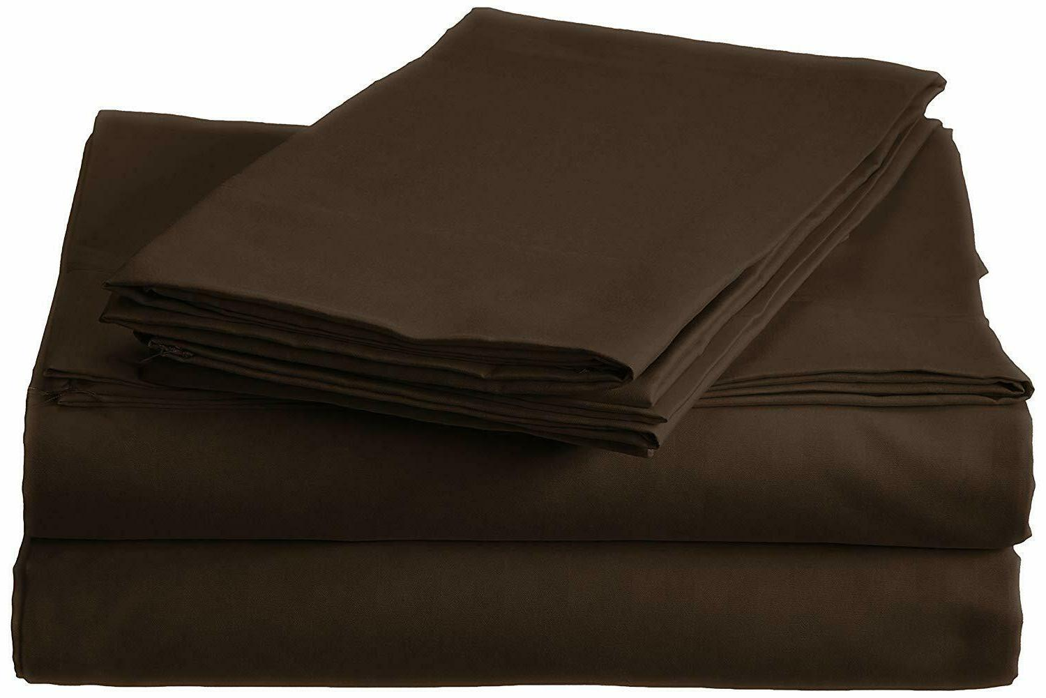 Top_Linens 4-Piece Bed Sateen - Thread Count