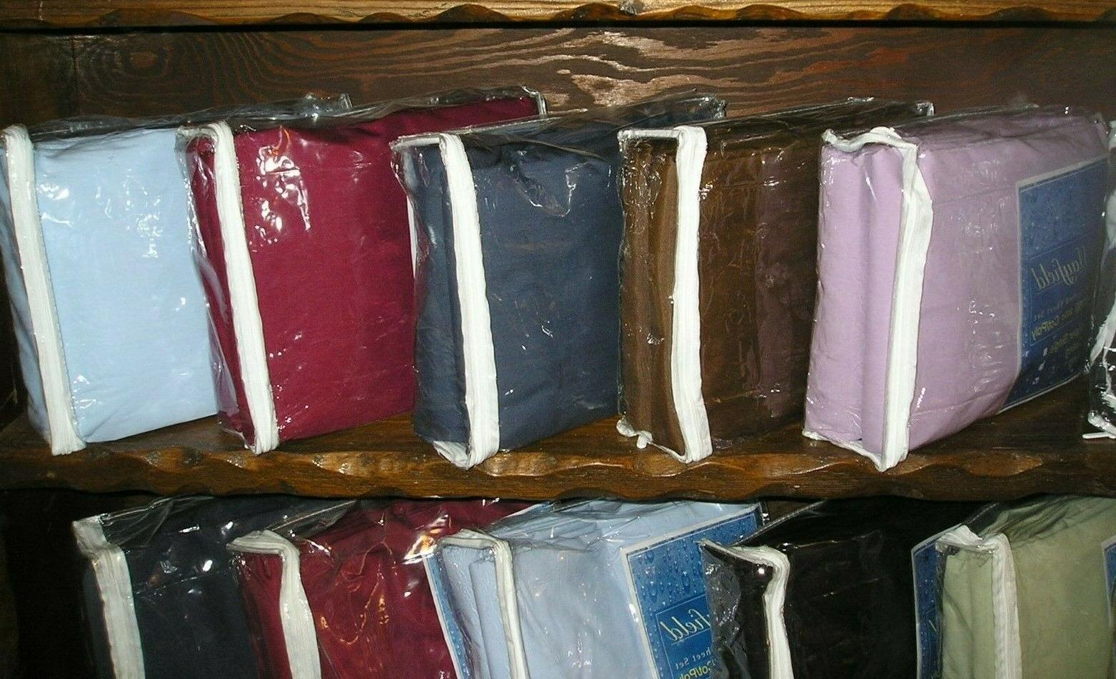 waterbed sheets attached 200 tc cal