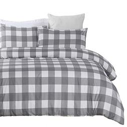 lightweight microfiber duvet cover set