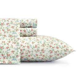 Laura Ashley Lucy Sheet Set, Queen, Bright Pink