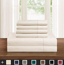 Elegant Comfort Luxurious Soft 1500 Thread Count Egyptian 6-