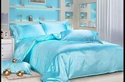 Reliable Bedding Luxurious Ultra Soft Silky Satin 7-Piece Be