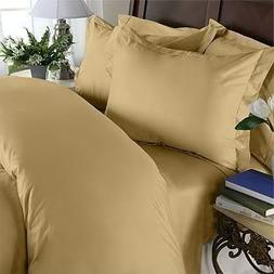 HC Collection 1500 Thread Count King Size 4pc Microfiber Bed
