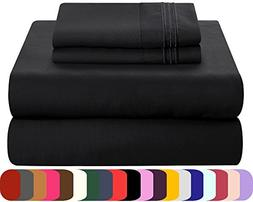 Mezzati Luxury Bed Sheets Set - Soft and Comfortable 1800 Pr