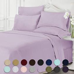 Swift Home Luxury Bedding Collection, Ultra-Soft Brushed Mic