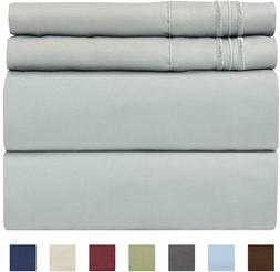 luxury deep pocket 4 pc sheet set