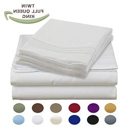 Luxury Egyptian Comfort Wrinkle Free 1800 Thread Count 6 Pie