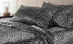 Elite Home Products Luxury Satin 100-Percent Poly Solid Shee