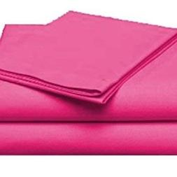 Luxury Sheets Trusted by The Biggest Hotels, Hot Pink Solid