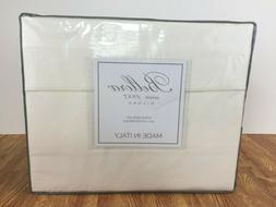 Bellora Made in Italy QUEEN 4 PC Sheet Set Cream Ivory 100%