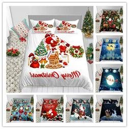 Merry Christmas Santa Claus Hot Sale Bedding Set Duvet Cover