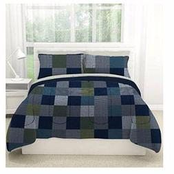 MINECRAFT STYLE BEDDING QUEEN SIZE COMFORTER BED IN A BAG SH