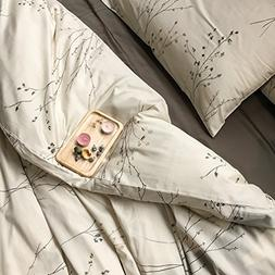 Eikei Modern Vintage Retro Mod Print Bedding Egyptian Cotton