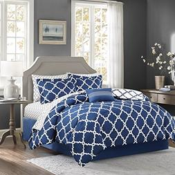 Madison Park MPE10-091 Essentials Merritt Complete Bed and S