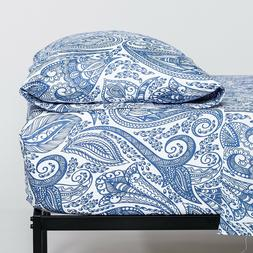 Cosy House Collection Paisley Printed Ultra Soft Patterned B