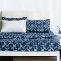 Pattern Queen Sheets - Printed Bed Sheet Set - Ultra Soft Mi